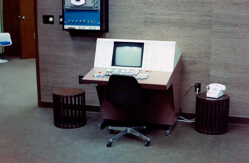 Новый протопит терминала ЭВМ