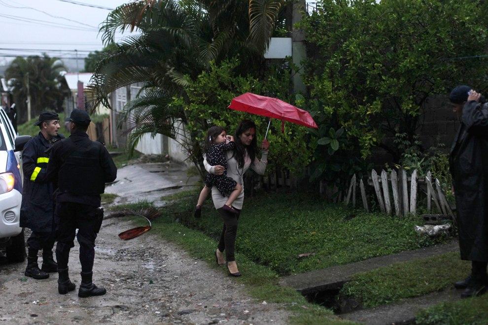 Место очередной перестрелки в Сан-Педро-Сула