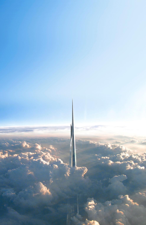 Kingdom Tower — жизнь на высоте 1 км