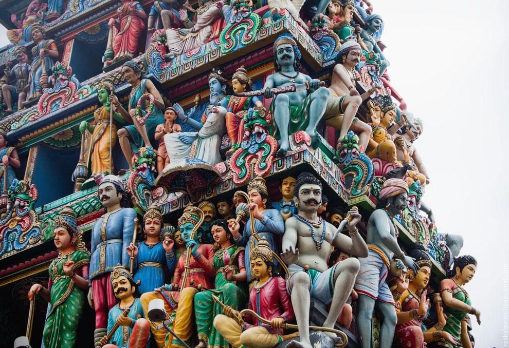 Индуистский храм Шри Мариамман