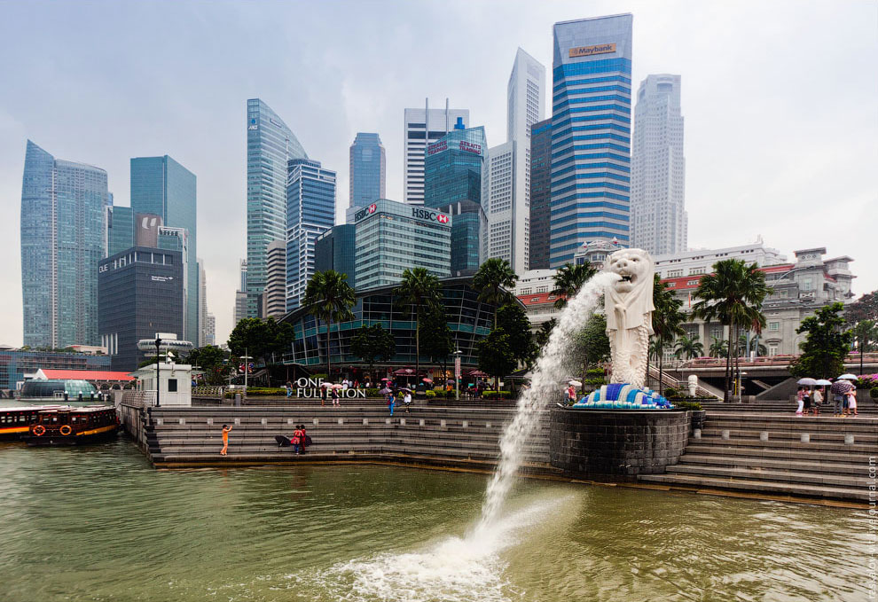 Мерлайон — символ Сингапура