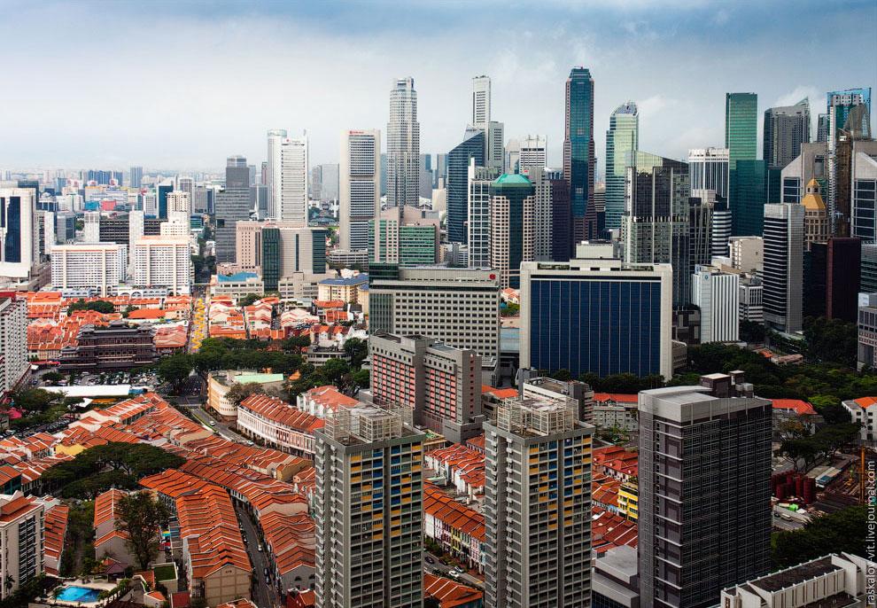 Контрасты Сингапура