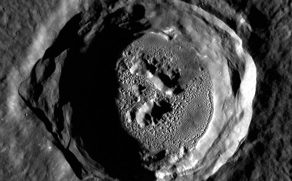 Кратер Кертес на Меркурии