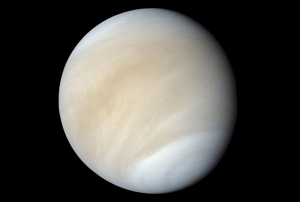 Венера — вторая внутренняя планета Солнечной системы