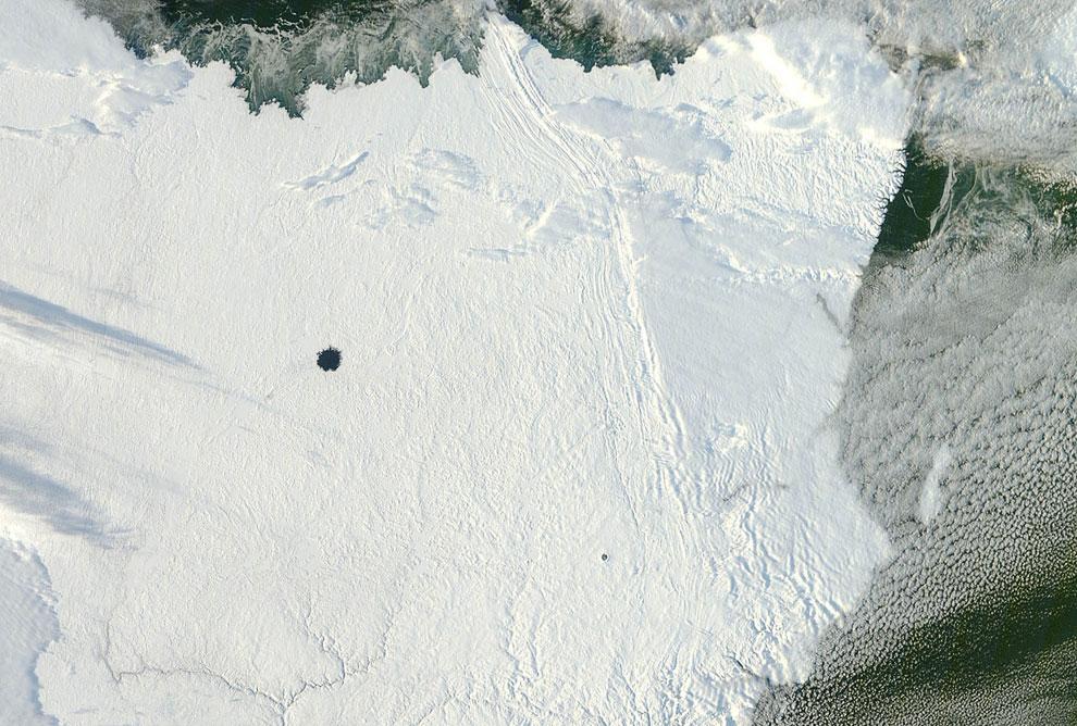 Кратерные озера Pingualuit и Couture
