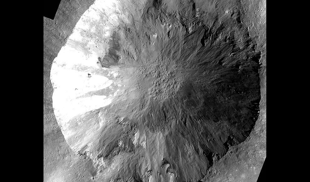 Овраги на астероиде Веста