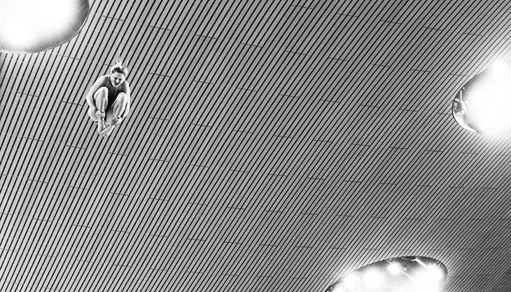 Две черно-белые фотографии, запечатлевшие мгновения Олимпиады 2012 в Лондоне, стали победителями