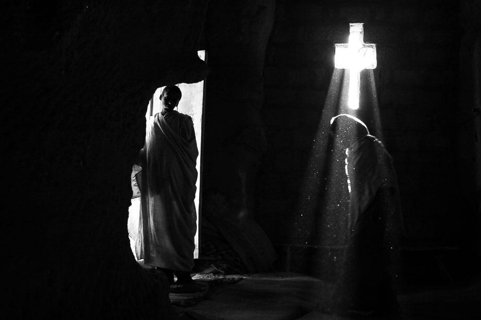 Лалибела — местечко в Эфиопии, где с четвертого века живут христиане