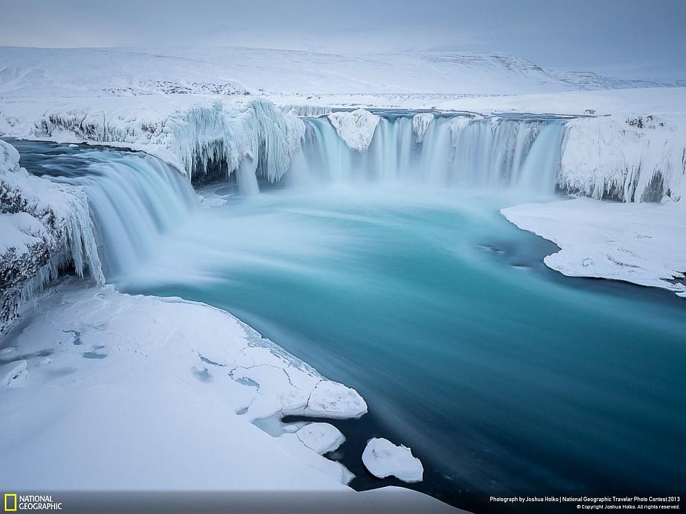 Годафосс — один из самых известных водопадов Исландии