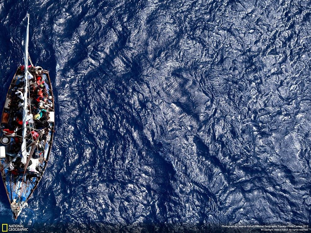 Голубое Карибское море