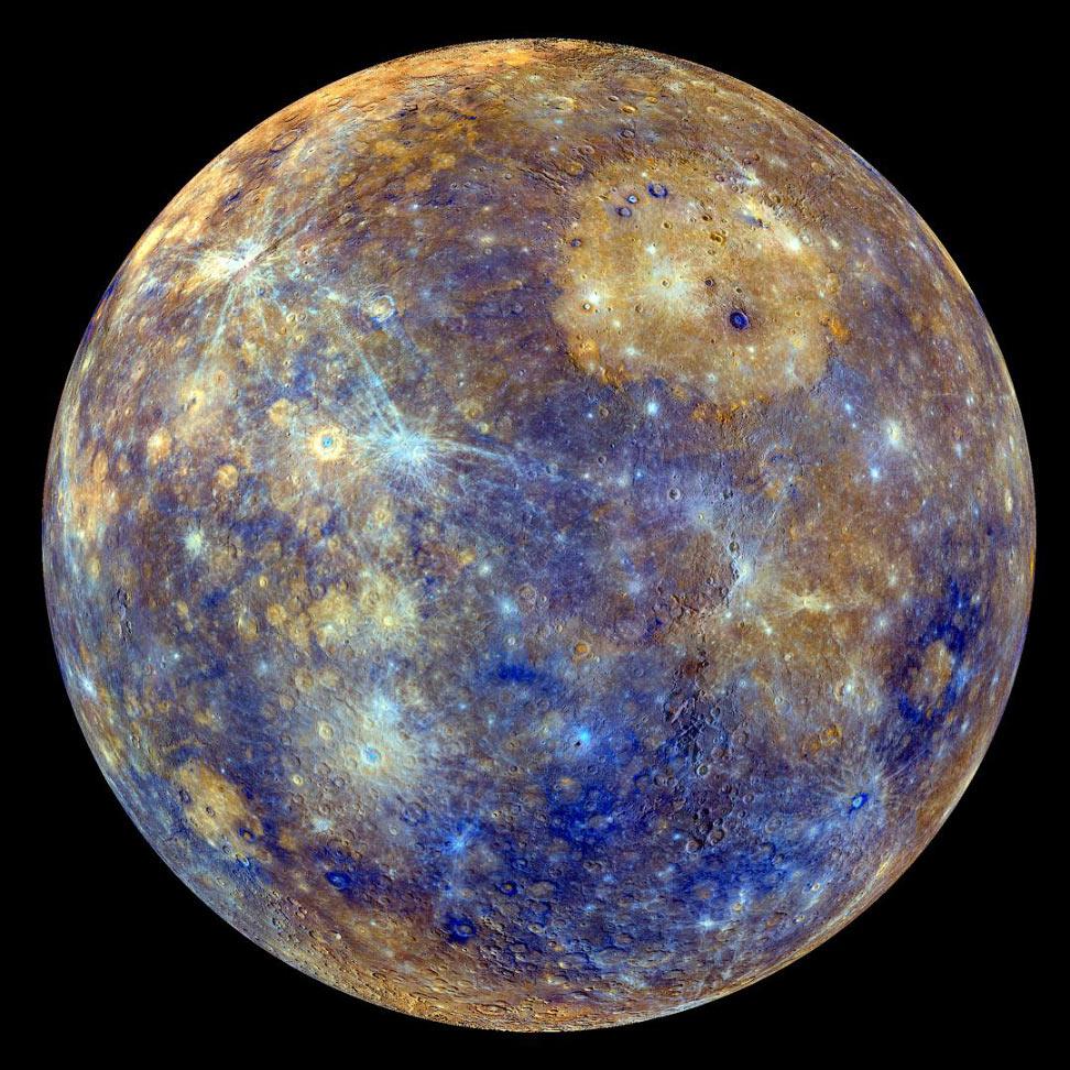 Цвета Меркурия