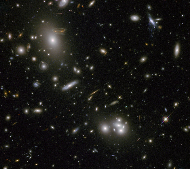Скопления галактик Абель 68