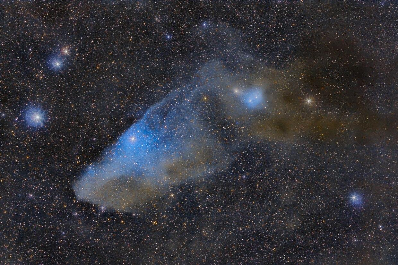 Туманность Голубая конская голова