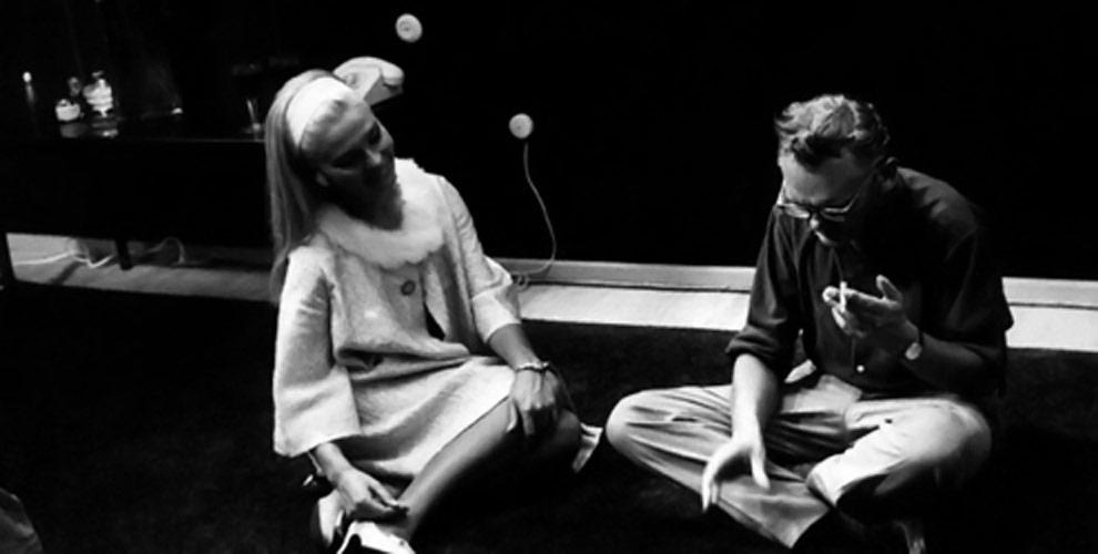 Леонид Гайдай и Светлана Светличная на съемках фильма «Бриллиантовая рука»