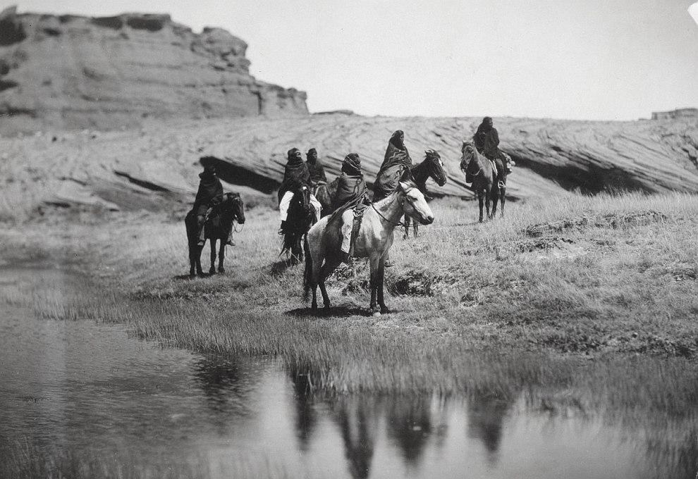 Индейцы из племени Навахо