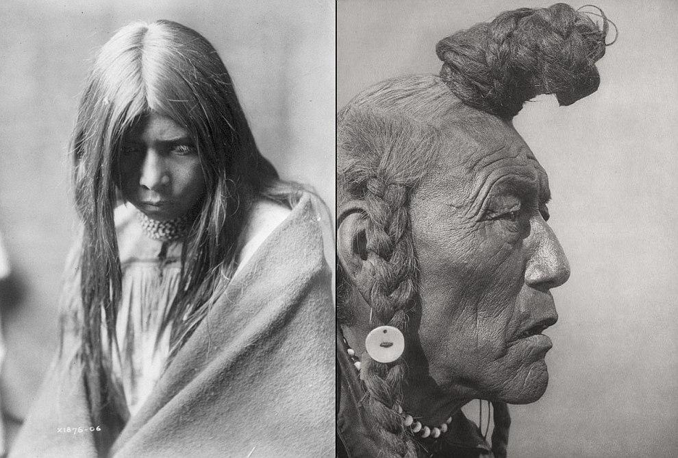 Апачи — собирательное название для нескольких культурно родственных племён североамериканских индейцев