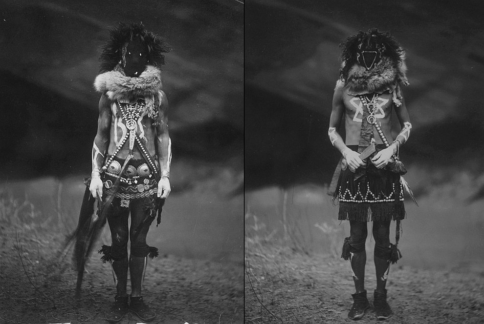 Мужчины племени навахо