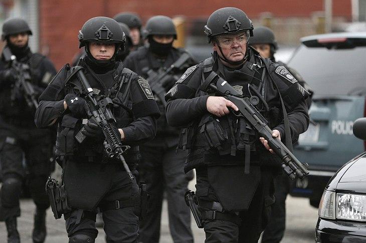 Спецоперация по задержанию «бостонского террориста»
