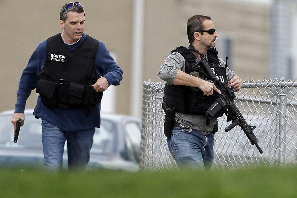Полиция Бостона
