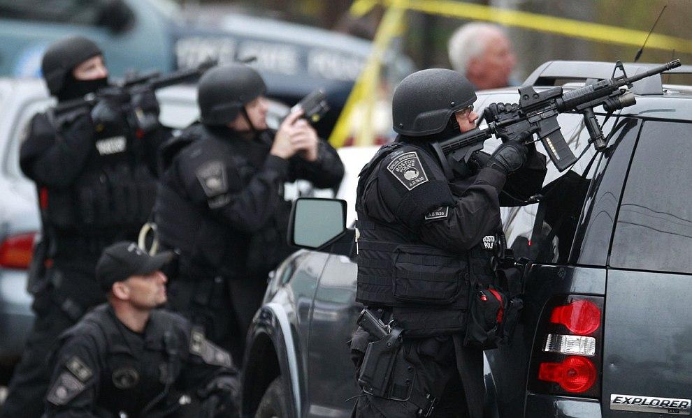 Полицейские Бостона