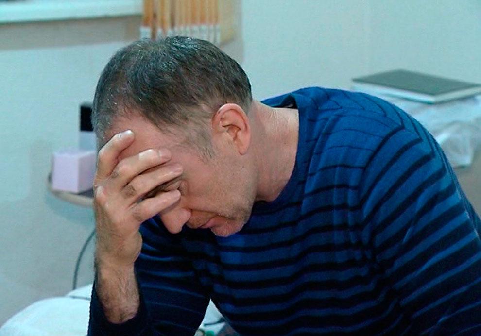 Анзор Царнаев, который называет себя отцом Джохара и Тамерлана, дает интервью в Махачкале