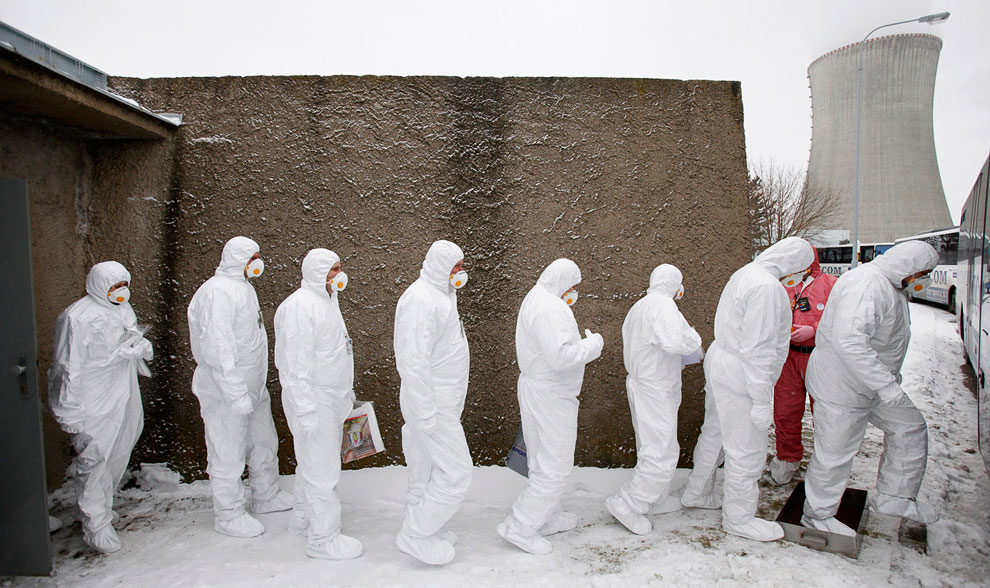 Учения на АЭС «Дукованы» — атомной электростанции, расположенная недалеко от деревни Дукованы в Чехии