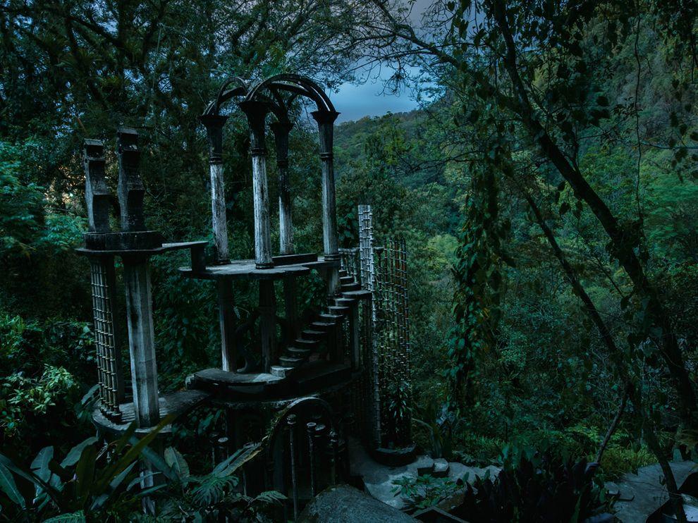 Сюрреалистический сад в Мексике
