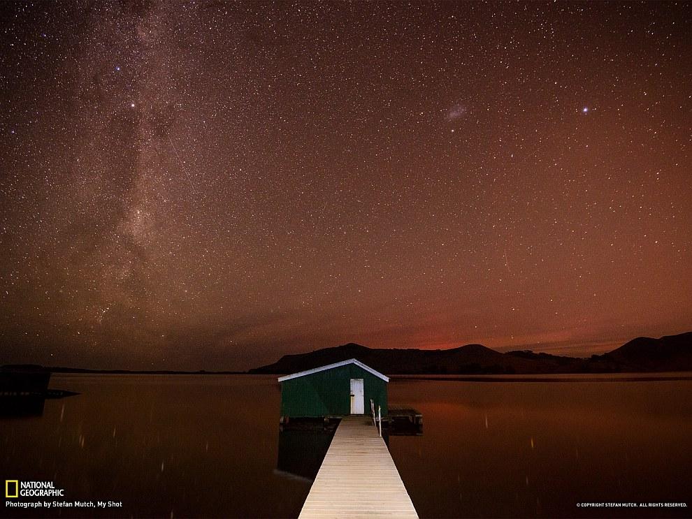 Млечный Путь, Новая Зеландия
