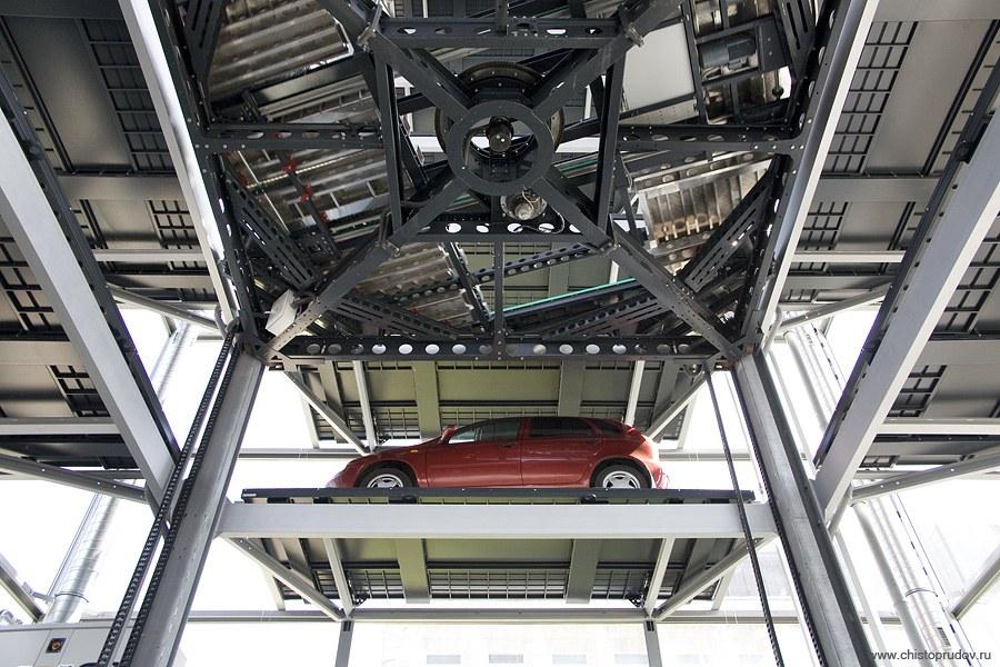 Как устроен автоматизированный паркинг