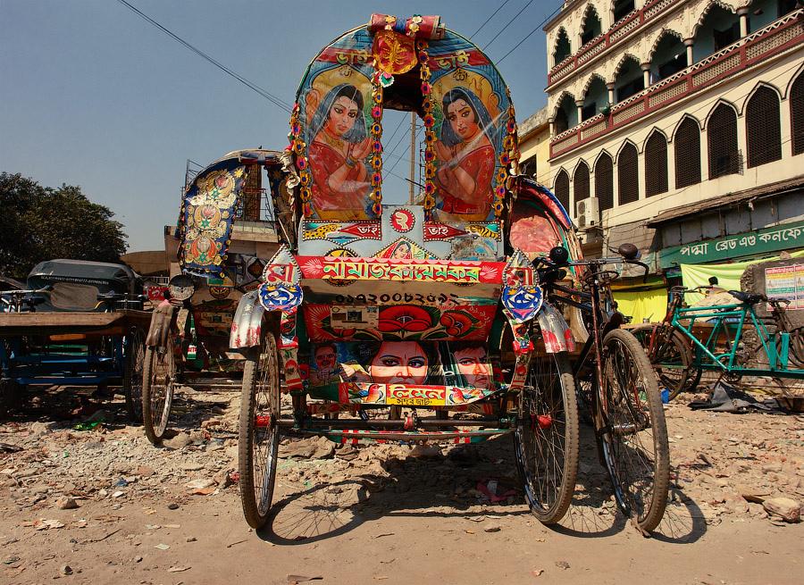 Топ-30 повозок рикш из Бангладеша