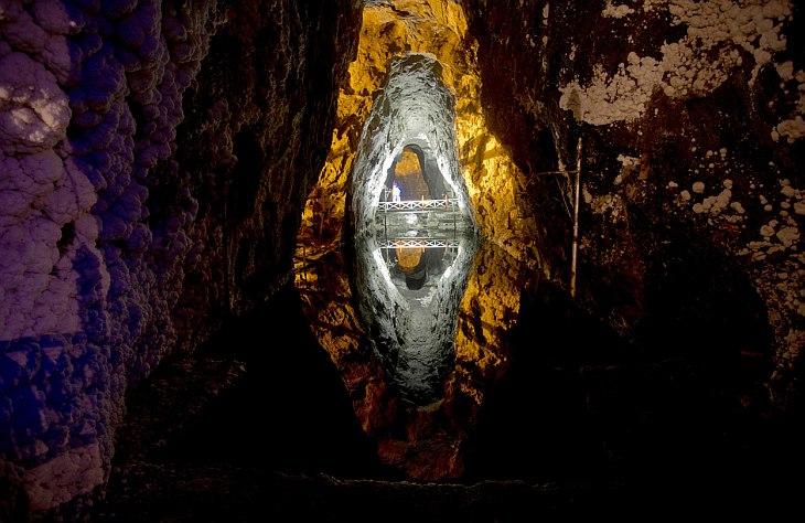 80 метровая соляная шахта с более чем 500-летней историей стала новым центром туризма в Колумбии