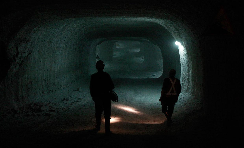 Соляные пещеры в Польковице, Польша