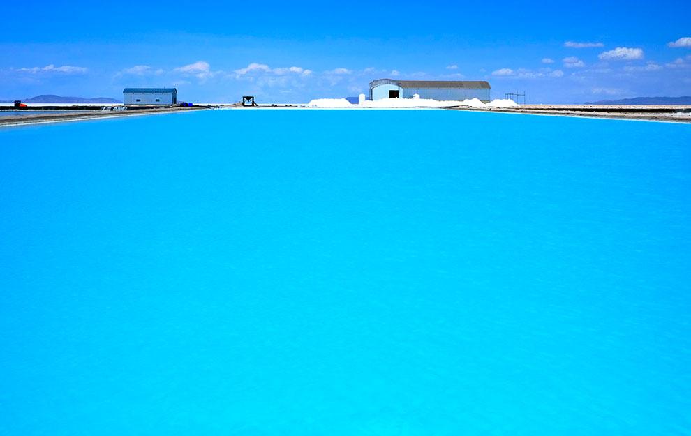 Соленое озеро. Солончак Уюни, Боливия
