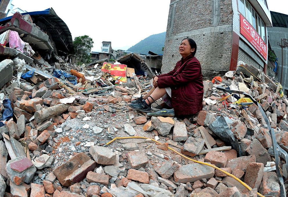 Землетрясение в Китае