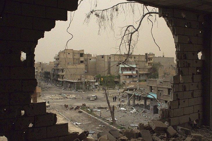 Дейр-эз-Зор — город на северо-востоке Сирии
