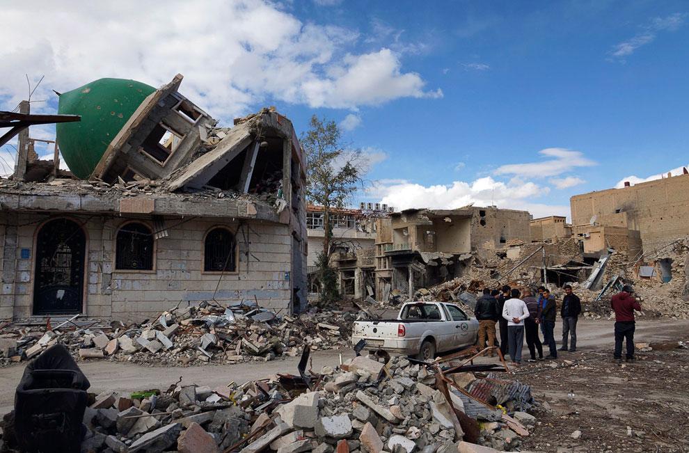 Руины мечети шейха Ясина, Дейр аль-Зор