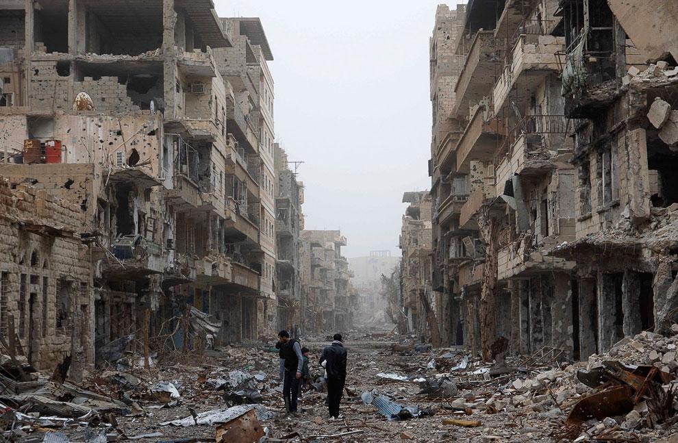 Улицы города Дейр аль-Зор