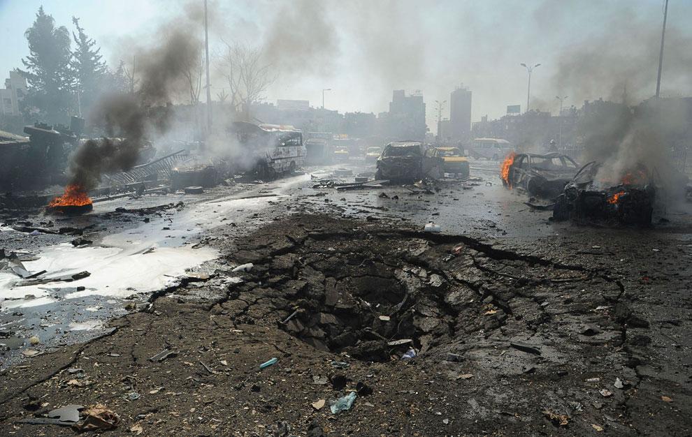 Дамаск — столица и второй по величине (после Алеппо) город в Сирии