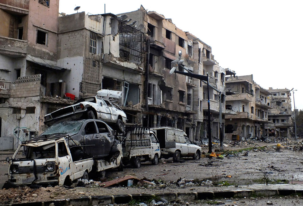 Хомс, 19 февраля 2013