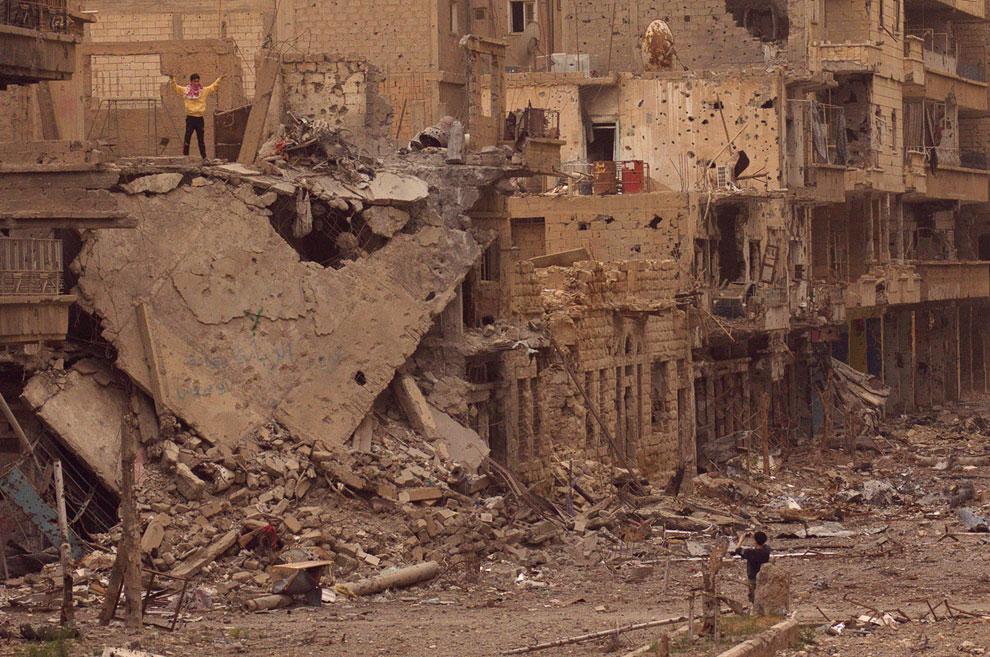 Фотография на память. Город Дейр аль-Зор