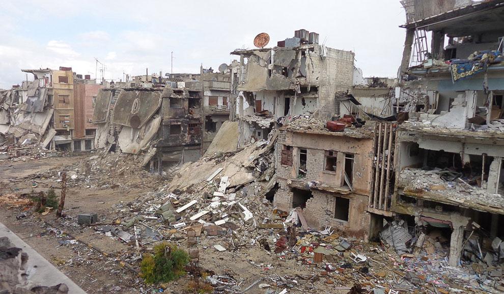 Город Хомс, 19 февраля 2013