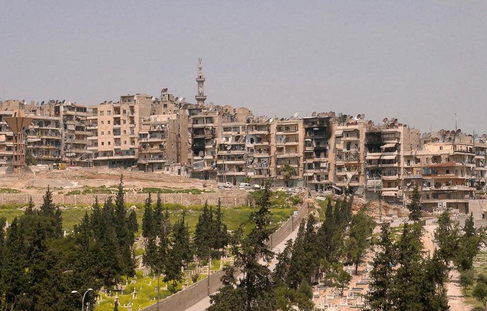 Город Алеппо имеет значительное место в истории