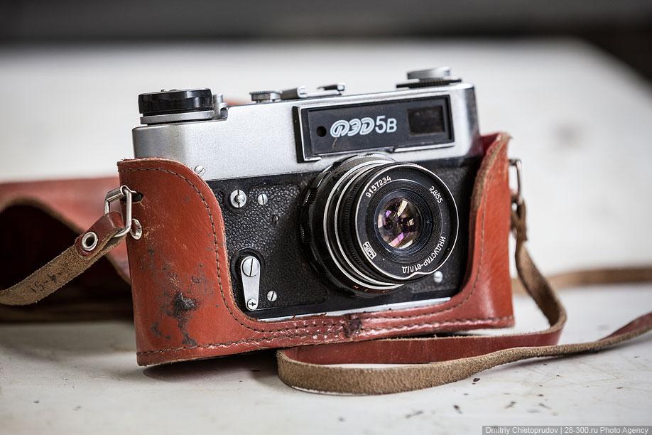 Советский дальномерный фотоаппарат ФЭД-5В