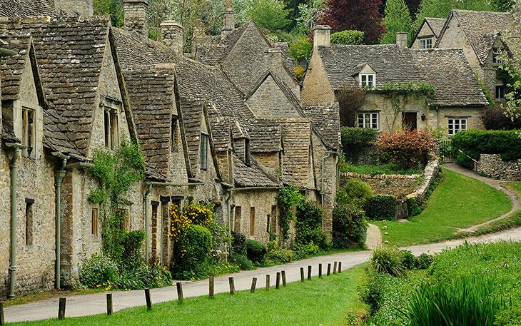 Bibury — самая старинная деревня Англии