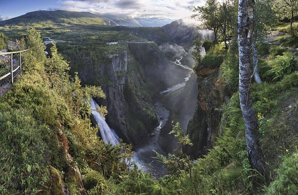 Четвертое место занял пейзаж из Эйдфьорда, Норвегия