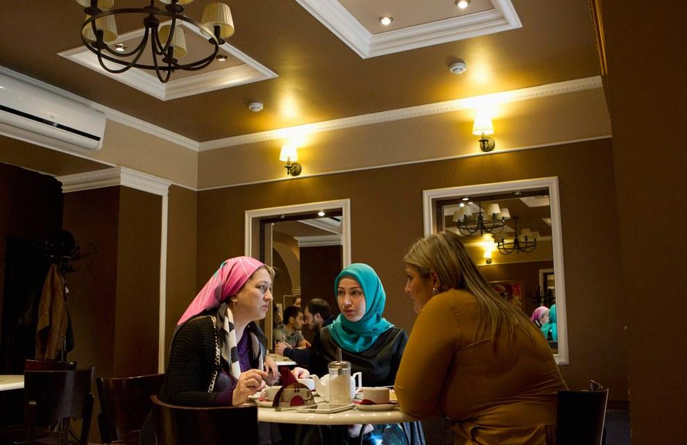 Кафе в центре Грозного