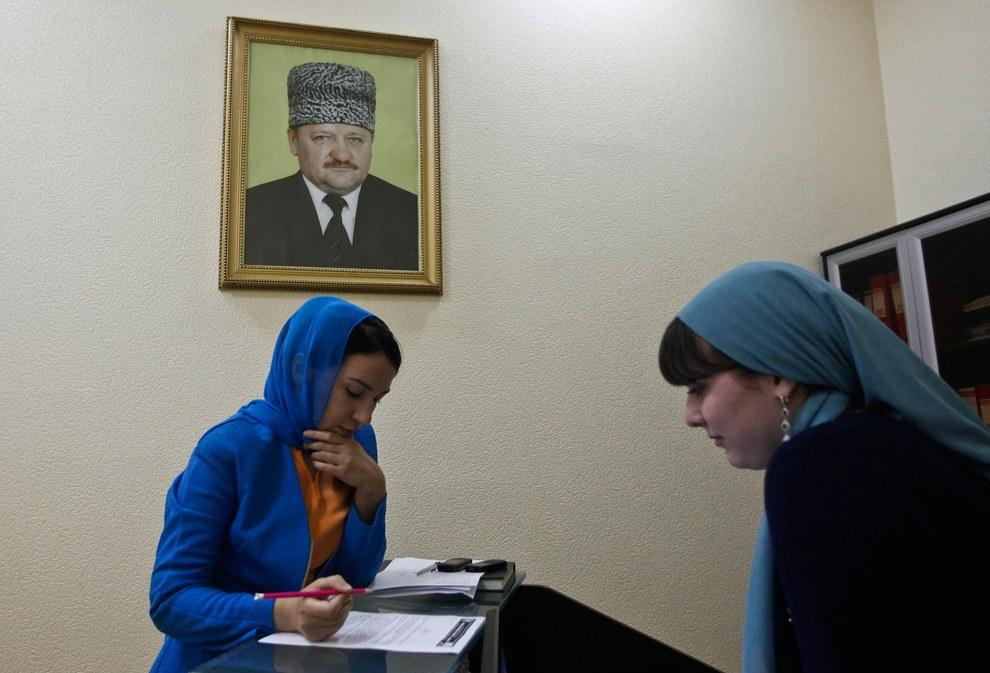 В мемориальном комплексе Славы имени Ахмата Кадырова