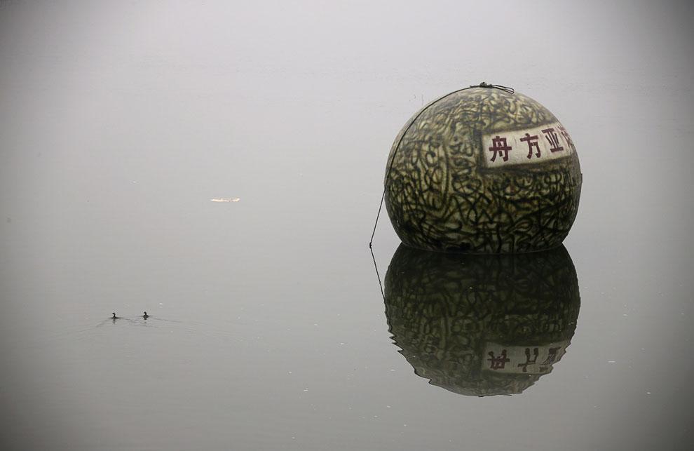 На случай цунами и наводнений изобретатель из Китая Лю Циюань спроектировал и построил свою версию Ноева ковчега