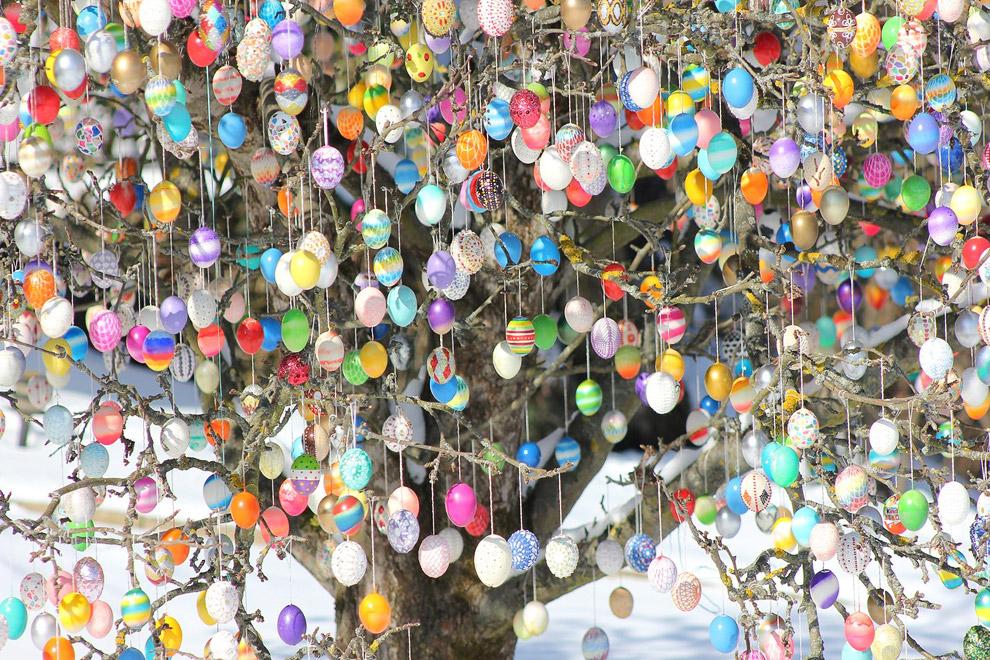 Пасхальное дерево Крафта