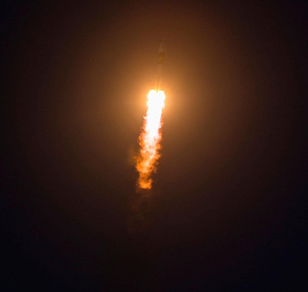 Поехали! Старт космического корабля «Союз ТМА-07М» с Байконура